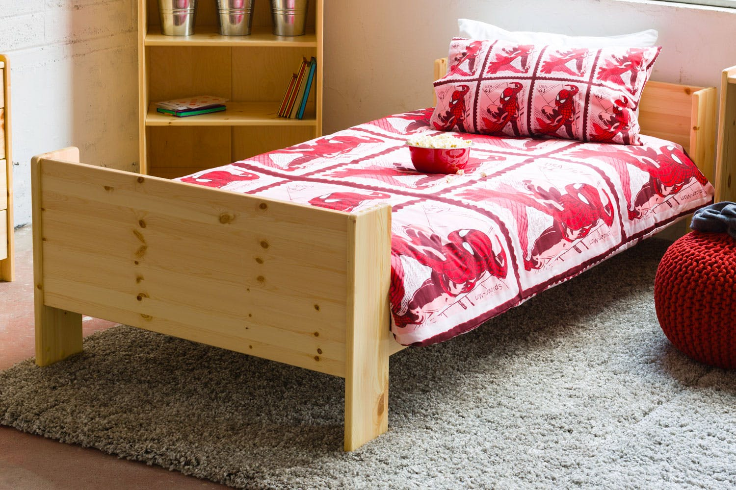 Single Bedroom Popsicle Single Bed Frame Shop At Harvey Norman Ireland