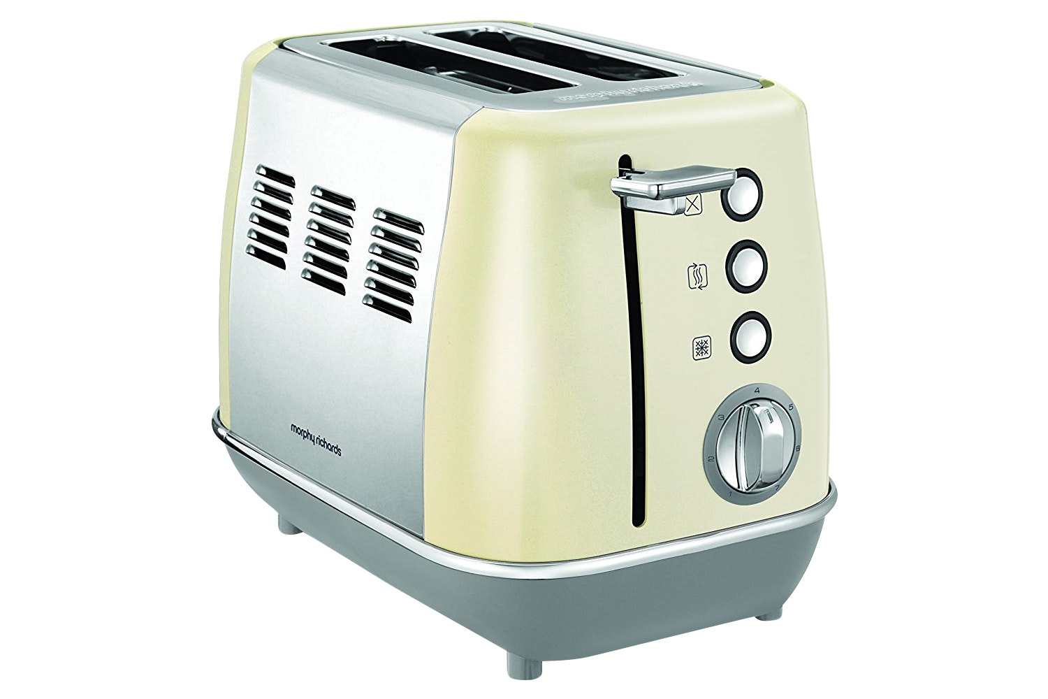 Morphy Richards Evoke 2 Slice Toaster | Cream