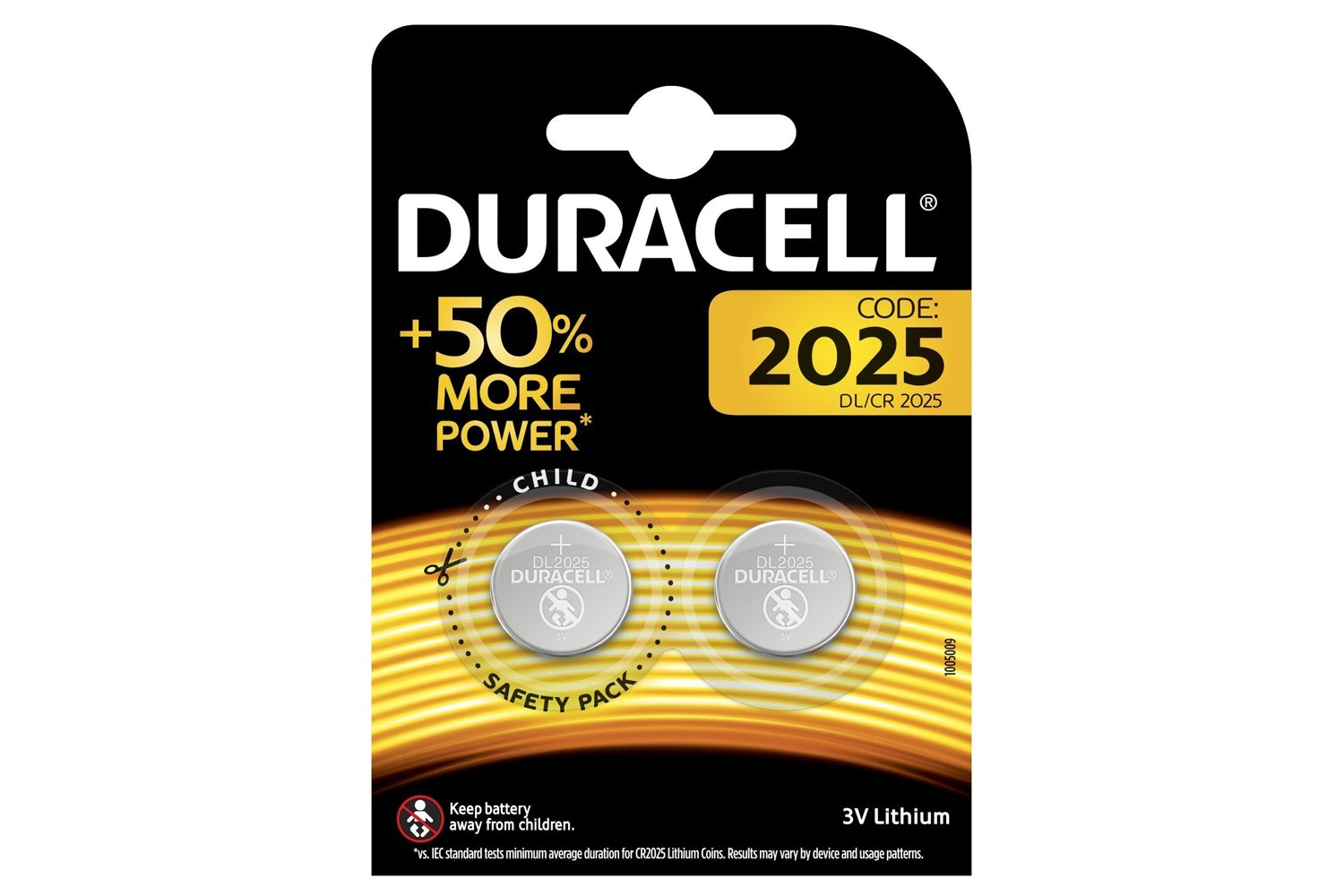 Duracell Specialty 2025 Lithium Coin Battery | 2 Pack