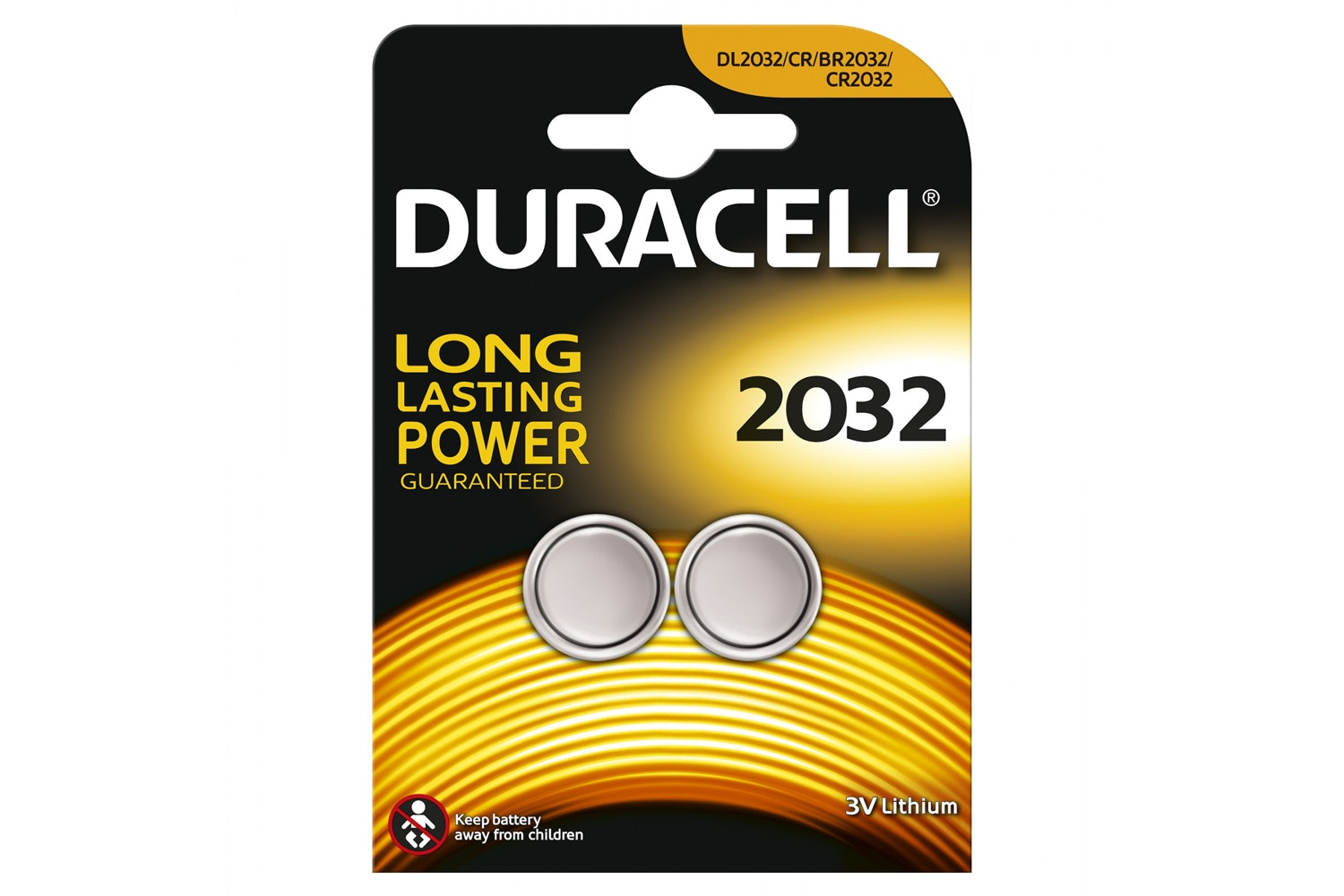 Duracell Specialty 2032 Lithium Coin Battery | 2 Pack