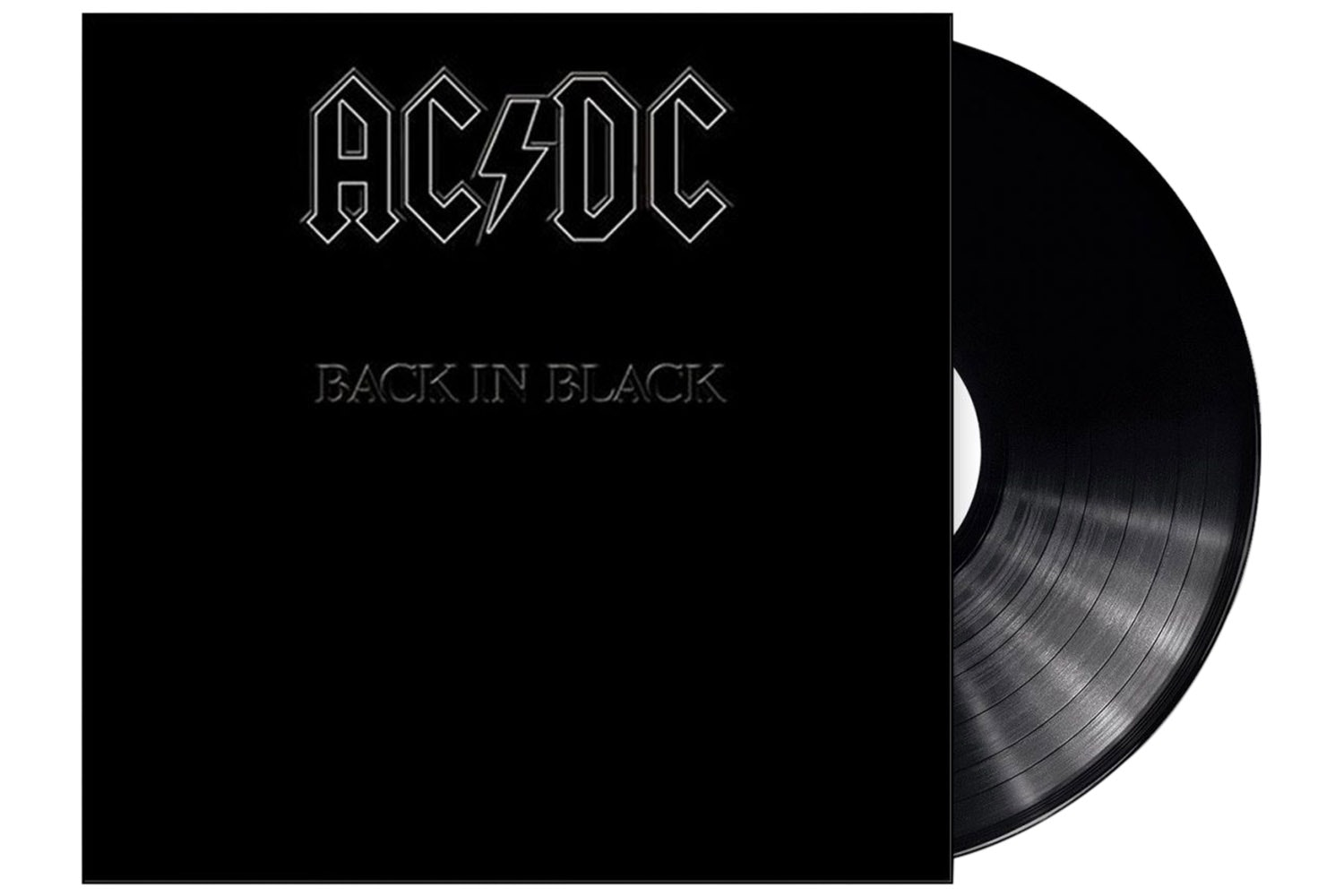 AC/DC Back In Black Album Vinyl