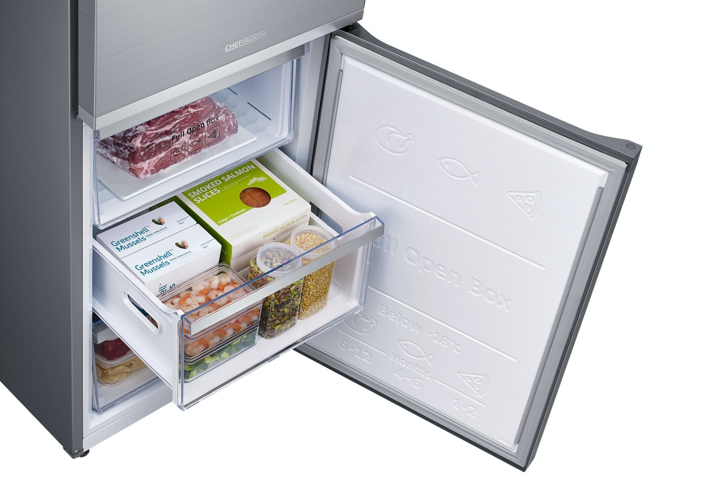 Samsung Freestanding Family Hub Fridge Freezer | RB38M7998S4/EU