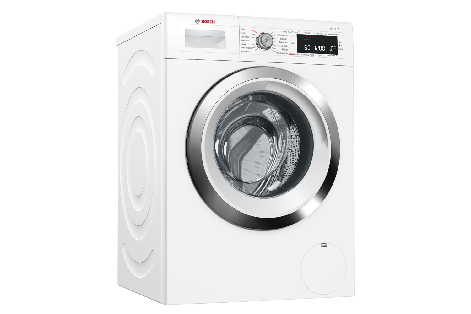 Bosch Series 8 9kg Automatic Washing Machine | WAW285H0GB