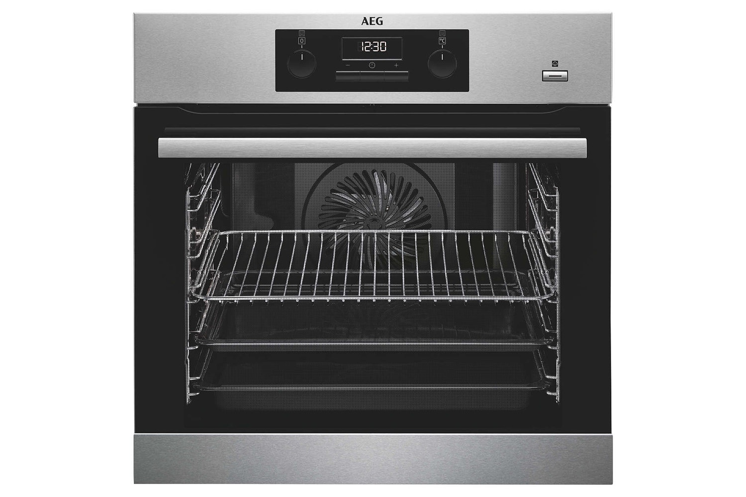 AEG SteamBake Built In Single Oven | BES351010M