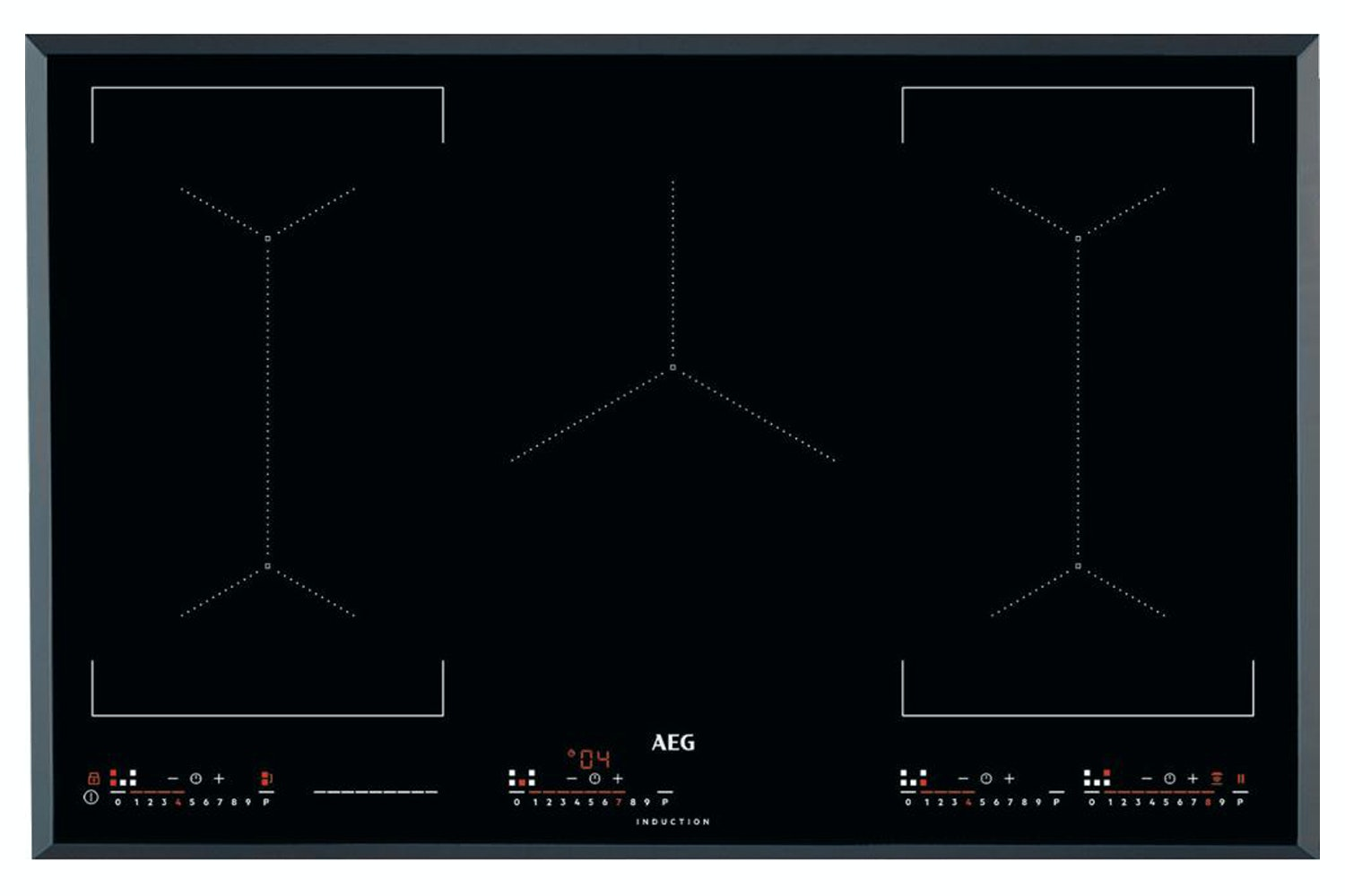 AEG Maxisense 80cm Induction Hob | IKE85651FB
