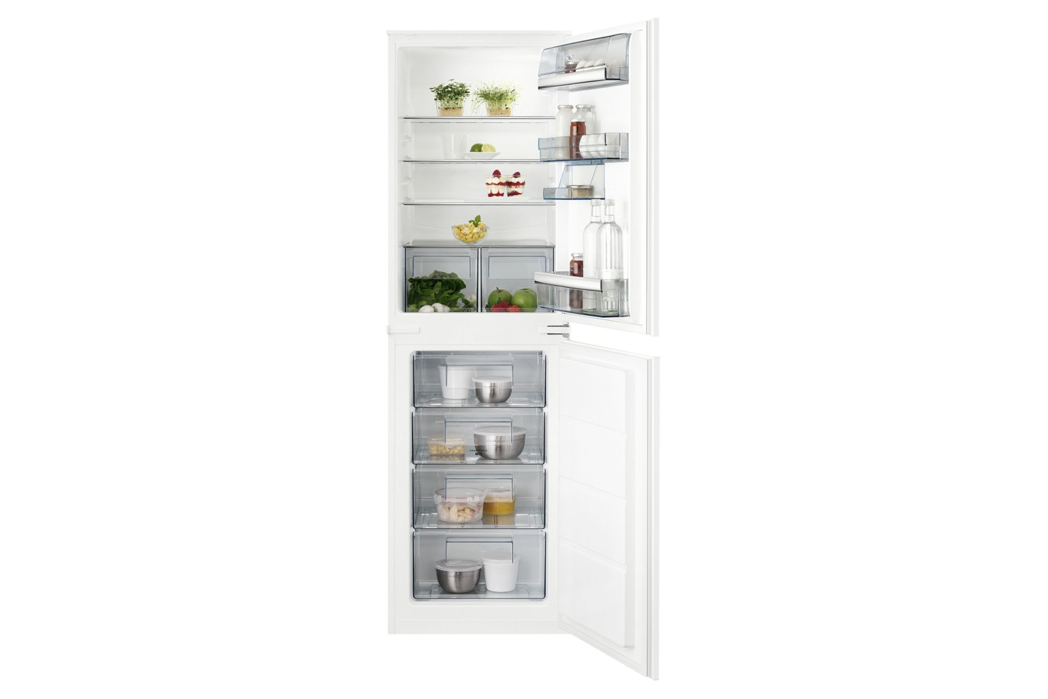 AEG Integrated Fridge Freezer | SCB6181VLS