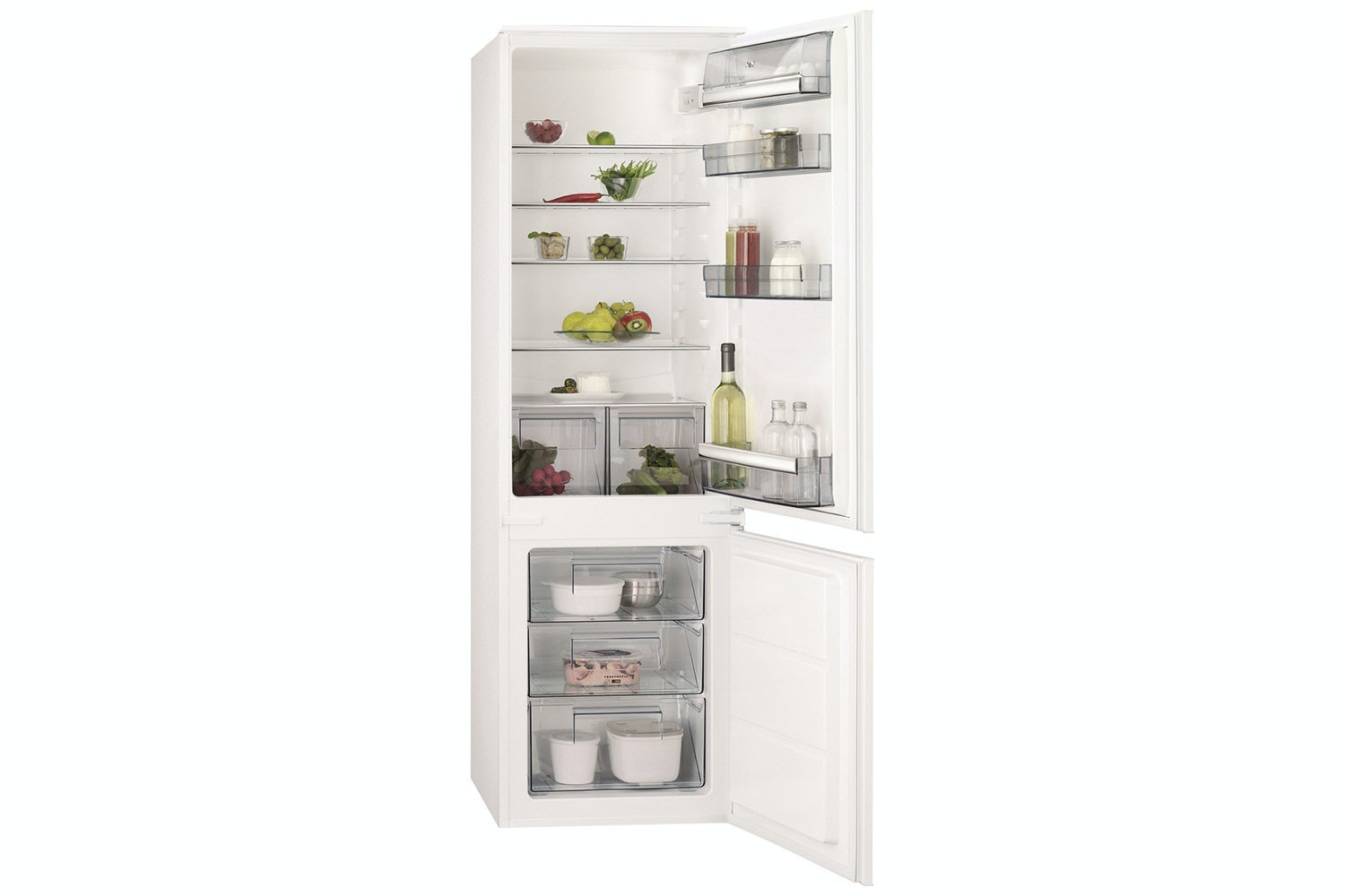 AEG Integrated Fridge Freezer | SCB6181XLS