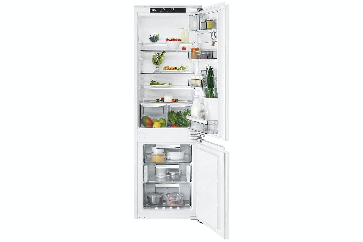 AEG Integrated Fridge Freezer | SCE8182VNC