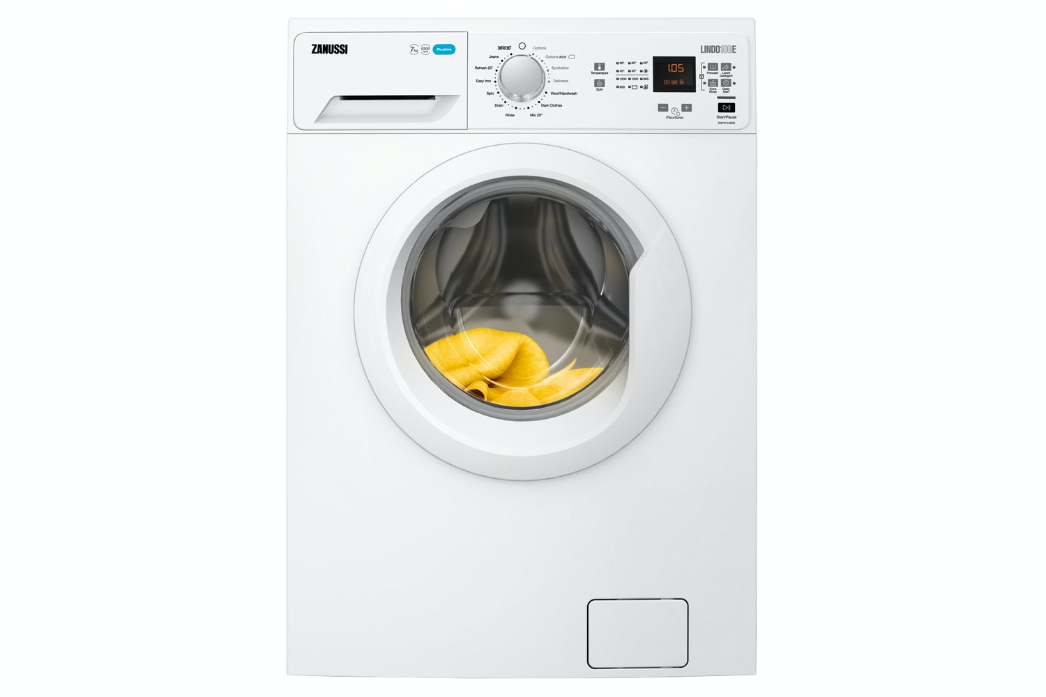 Zanussi 7kg Freestanding Washing Machine | ZWF71243WE