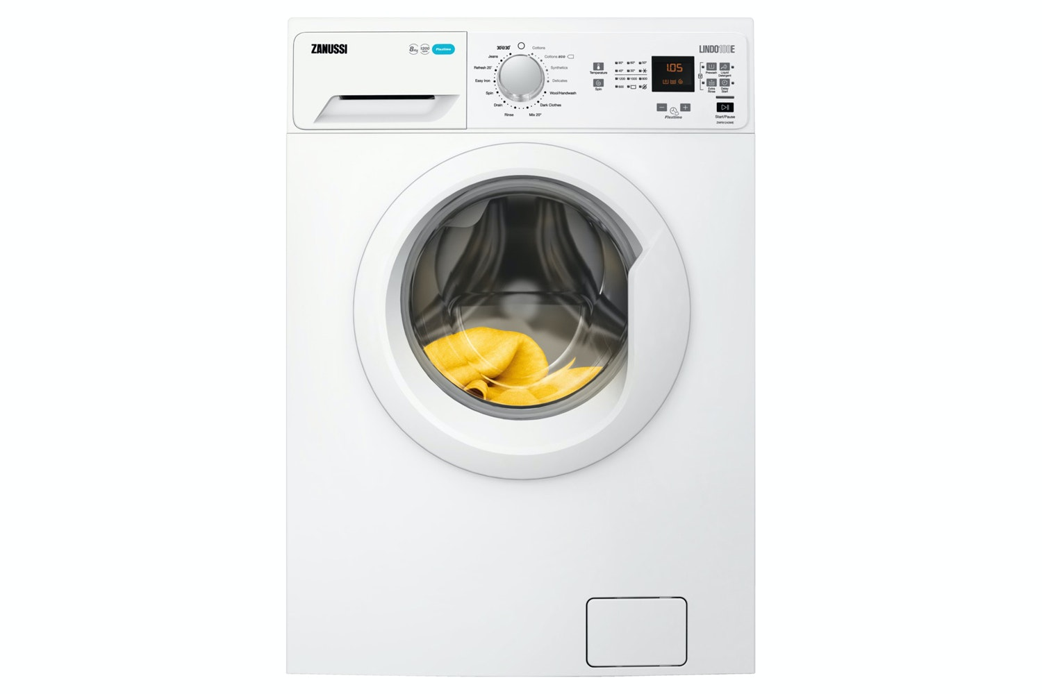 Zanussi 8kg Freestanding Washing Machine | ZWF81243WE