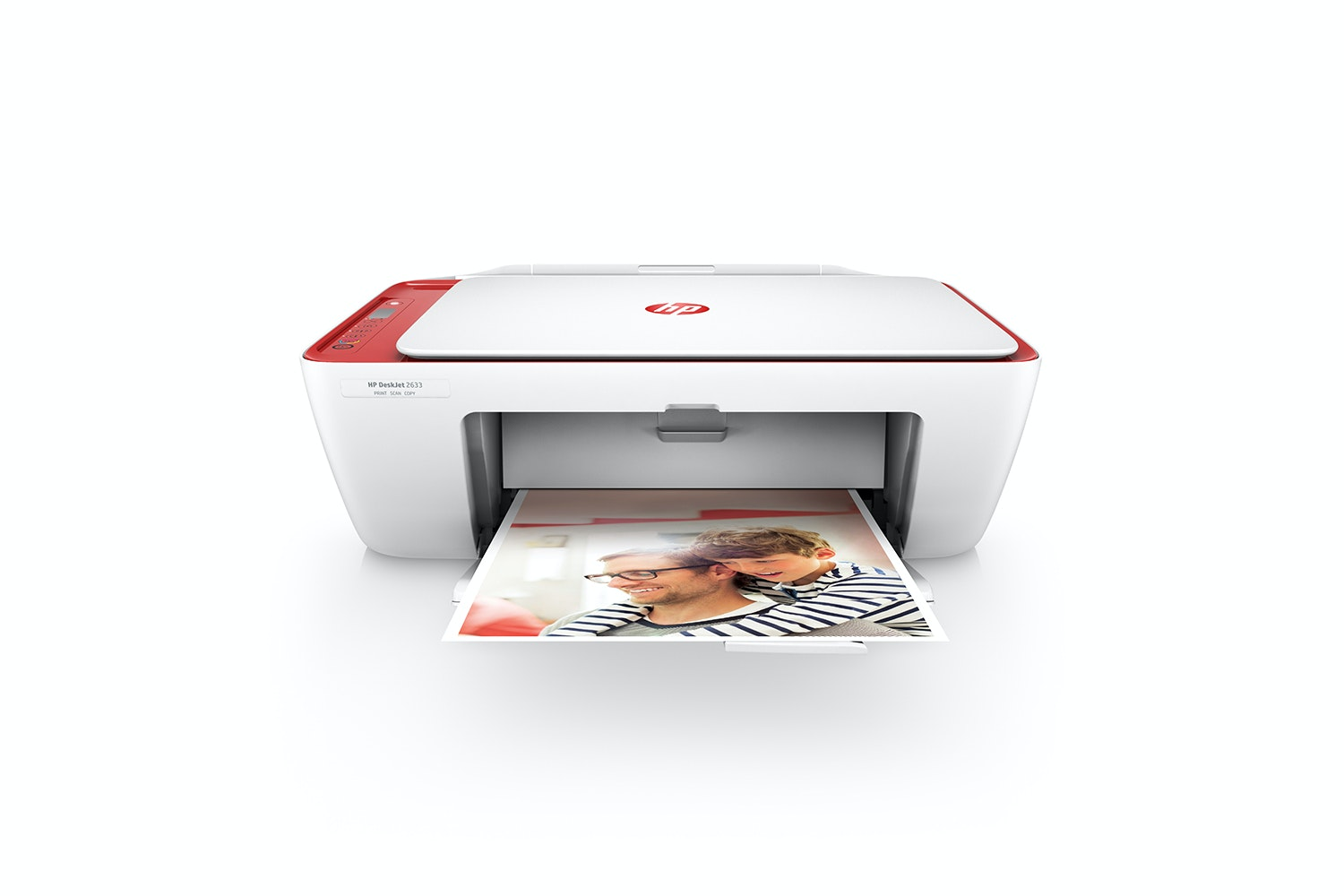 HP DeskJet 2633 Printer | Red