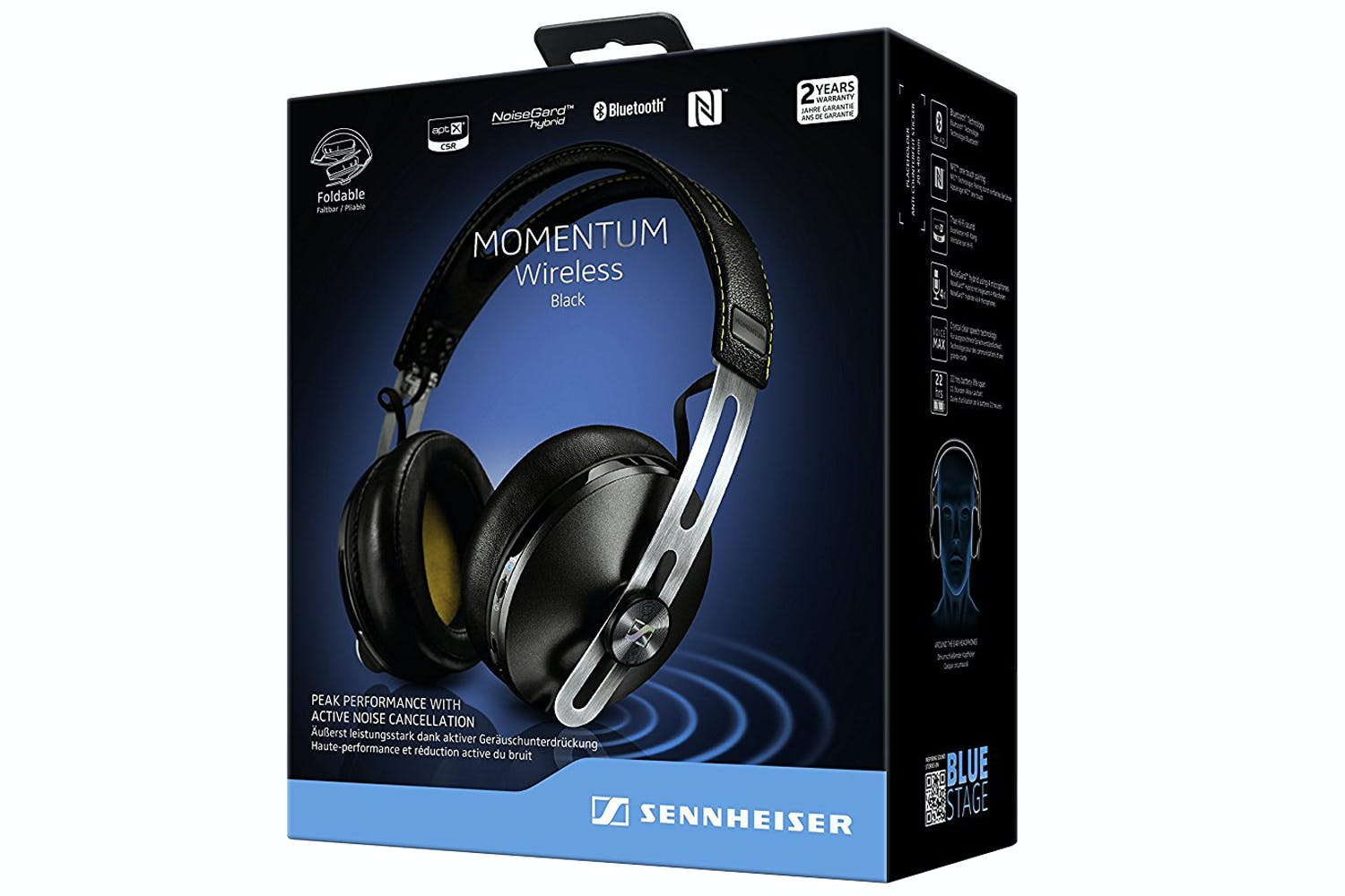 19c99fbdc61594 Sennheiser Momentum 2.0 Wireless Headphones | Black | Ireland
