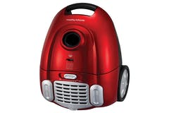Morphy Richards Essentials Compact Cylinder Vacuum Cleaner | Red