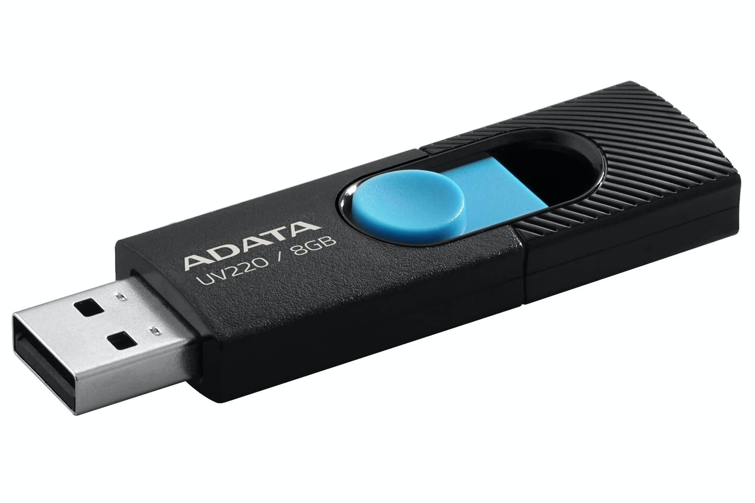 ADATA UV220 USB Flash Drive | 8GB | Black/Blue