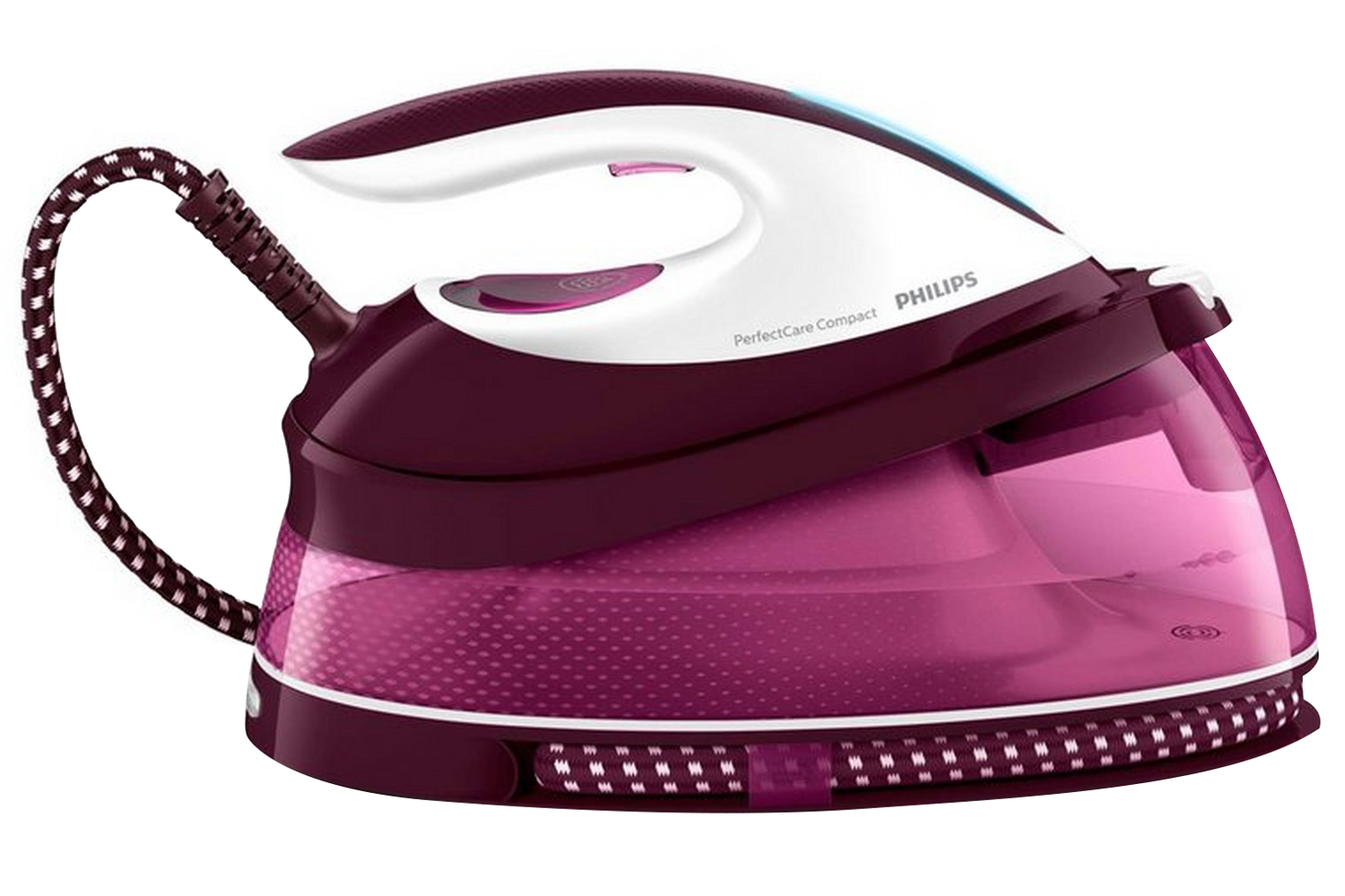 Kitchen & Home Collectibles Purple Handheld Mini Electric Steam Iron Surge Steam For Home And Travelling Perfect In Workmanship