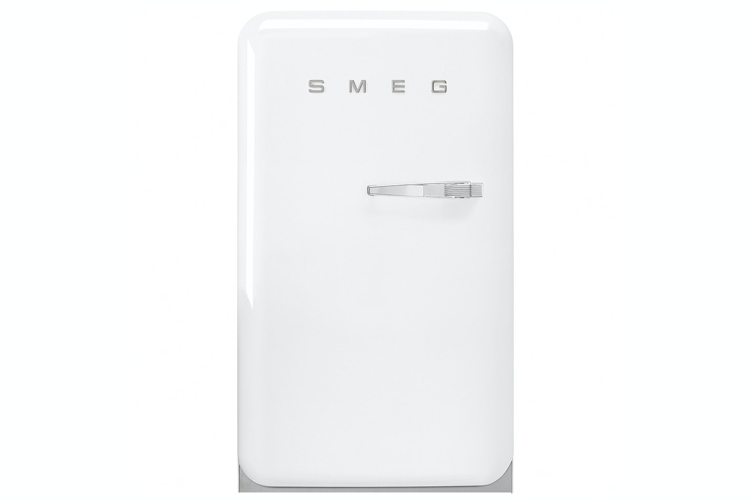 Smeg 50's Retro Style Freestanding Fridge Freezer | FAB10LB | White