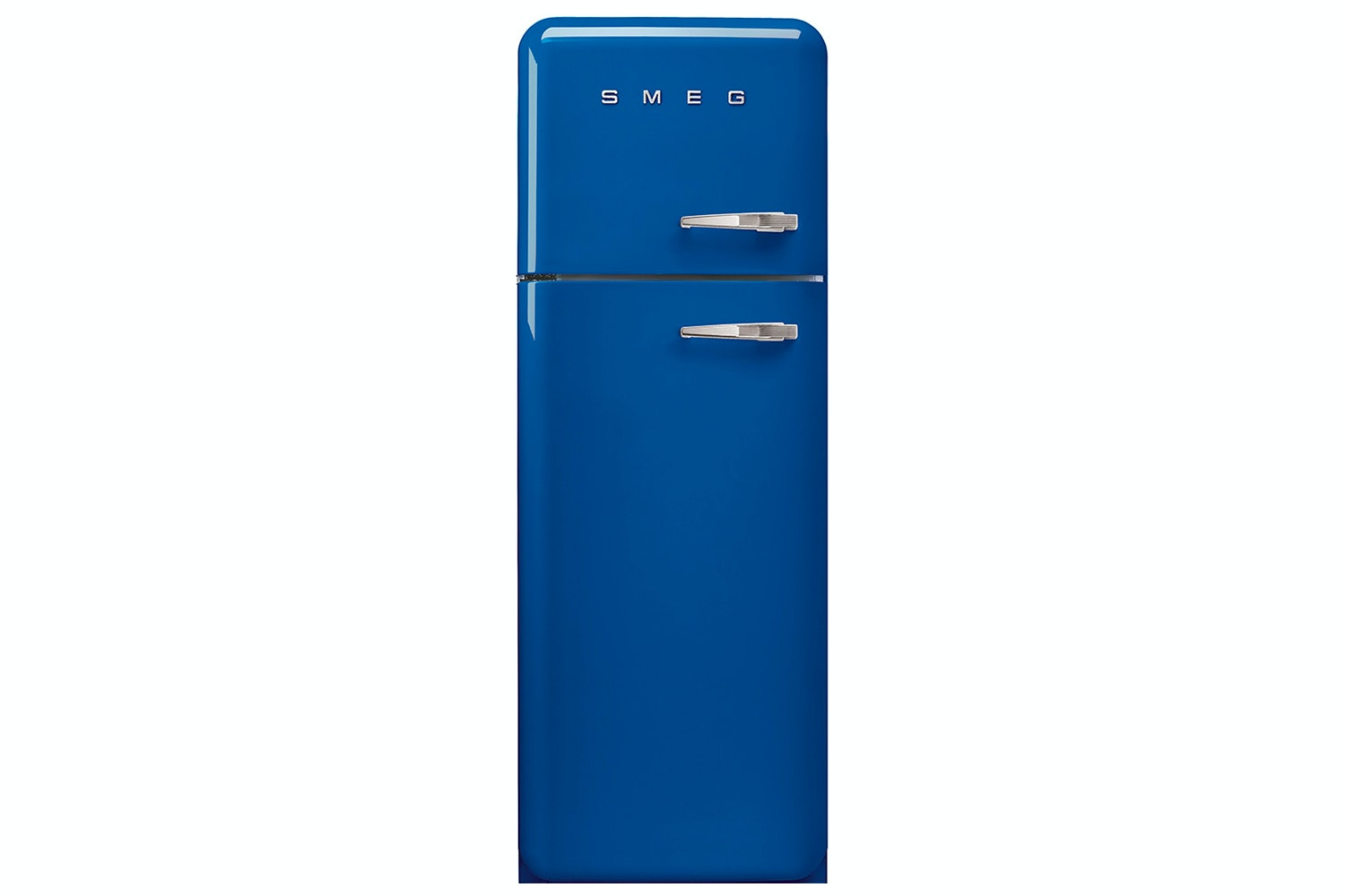 Smeg 50's Retro Style Freestanding Fridge Freezer | FAB30LFB | Blue