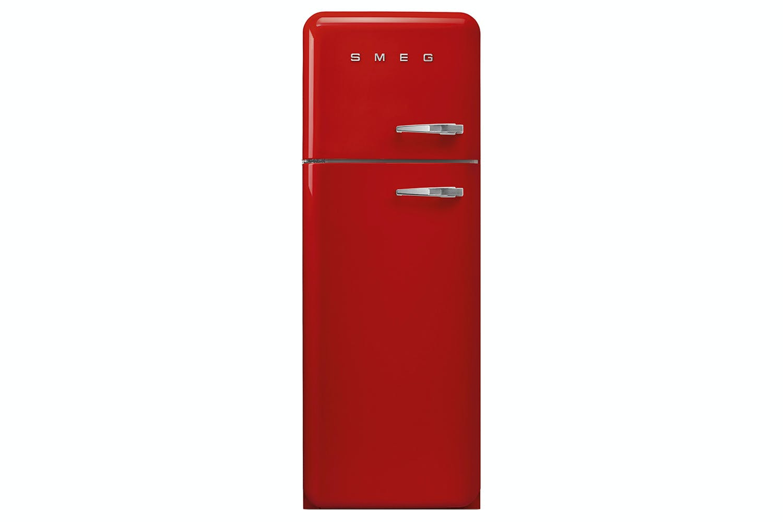 Smeg Retro Freestanding Fridge Freezer Fab30lfr Red