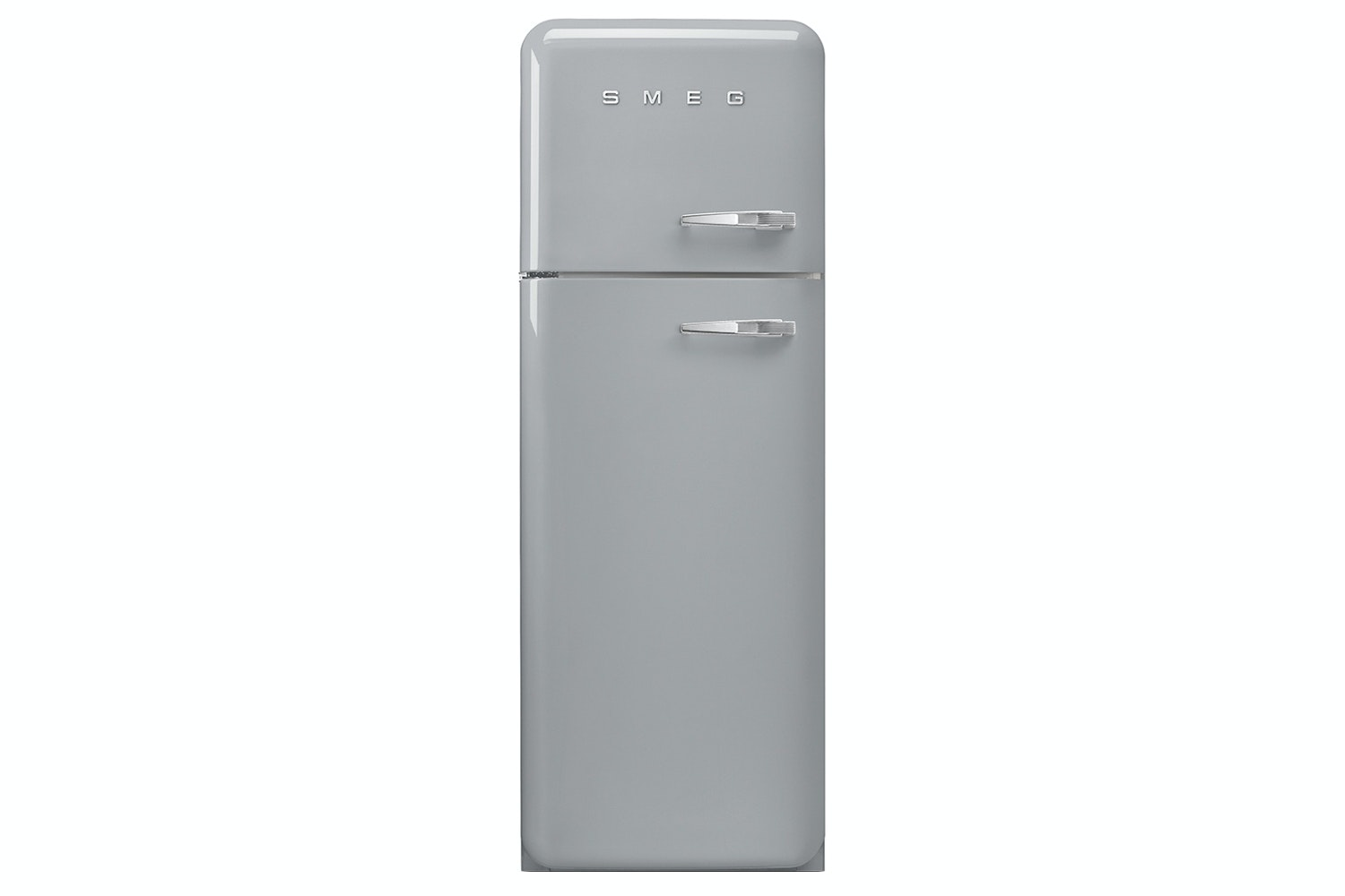 Smeg Retro Freestanding Fridge Freezer | FAB30LFS | Silver