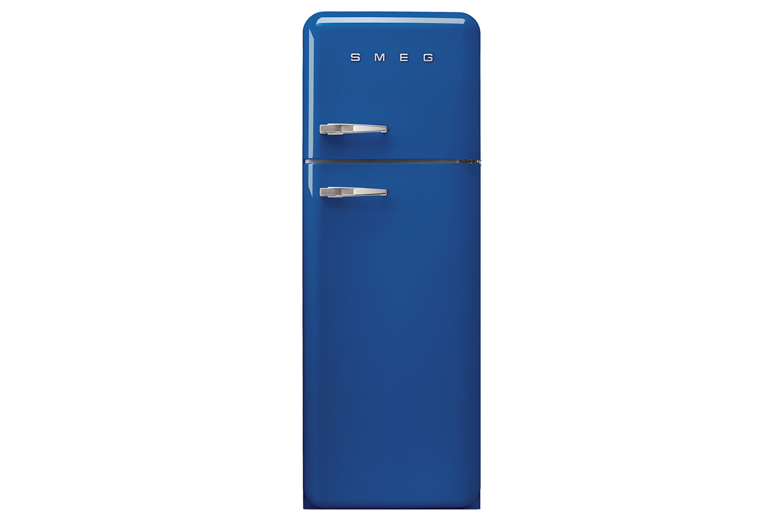 Smeg 50 S Retro Style Freestanding Fridge Freezer Fab30rfb Blue