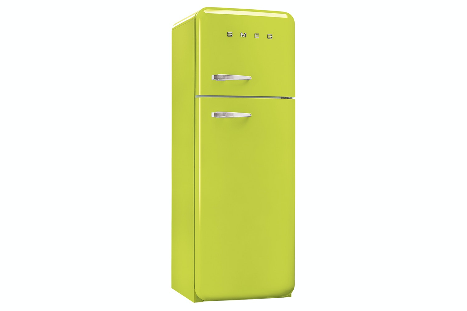 Smeg 50's Retro Style Freestanding Fridge Freezer | FAB30RFL | Lime Green