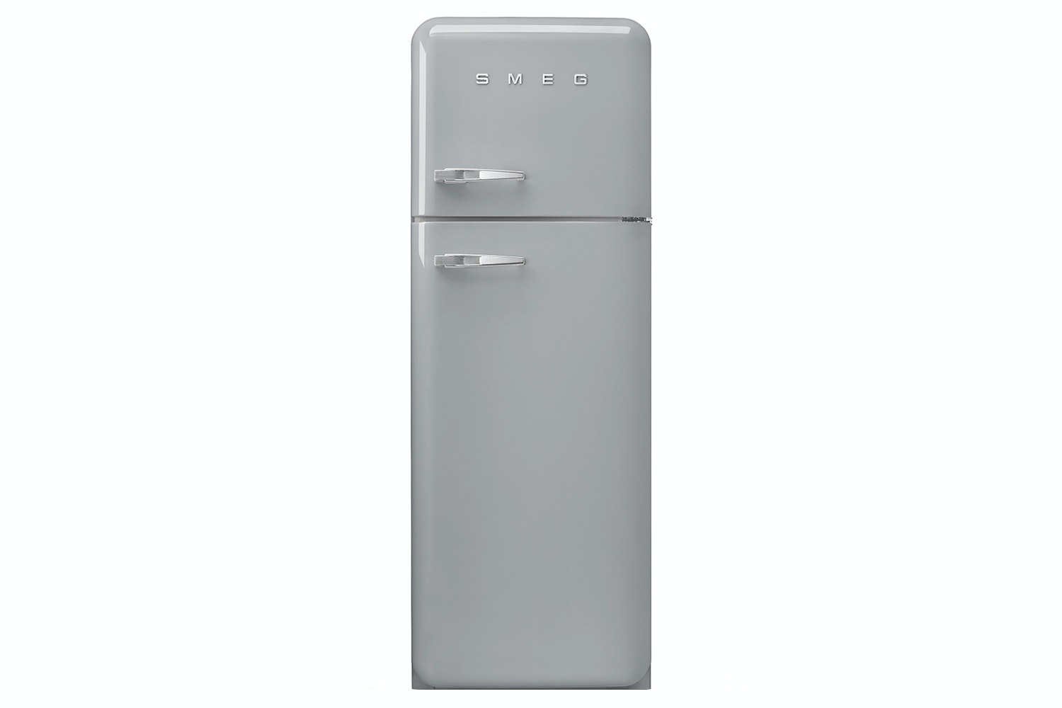 Smeg 50's Retro Style Freestanding Fridge Freezer | FAB30RFS | Silver