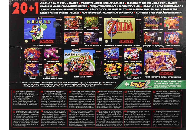 Nintendo Classic Mini Super Nintendo Entertainment System Ireland