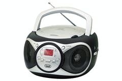 Trevi Portable Radio/CD Player | Black