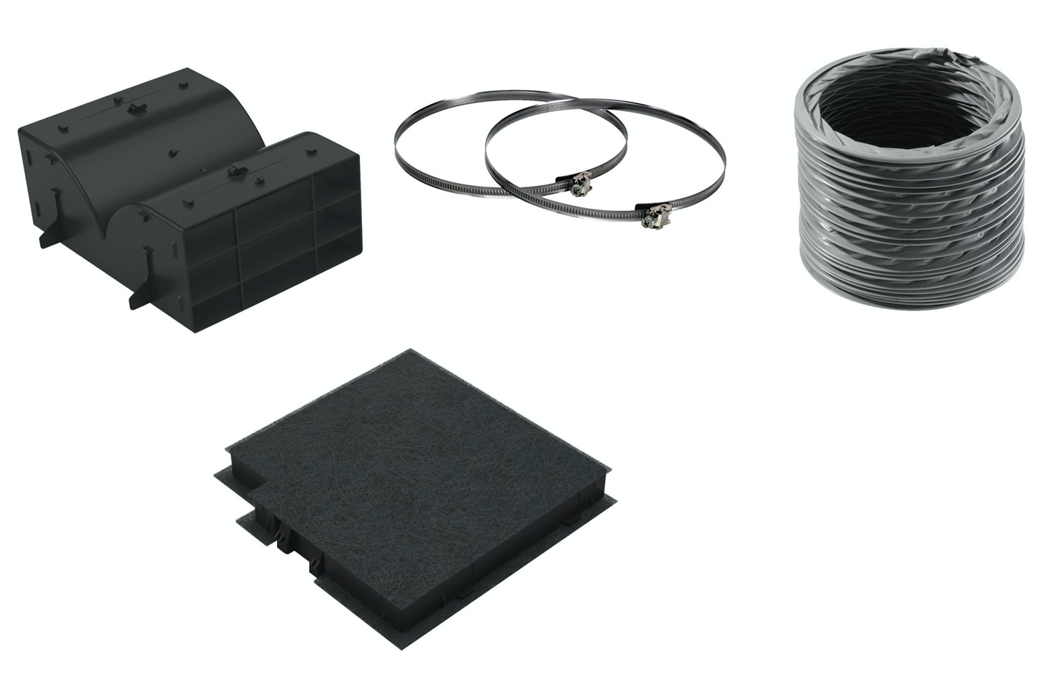 Bosch Recirculating Kit for Cooker Hood | DWZ0DX0U0