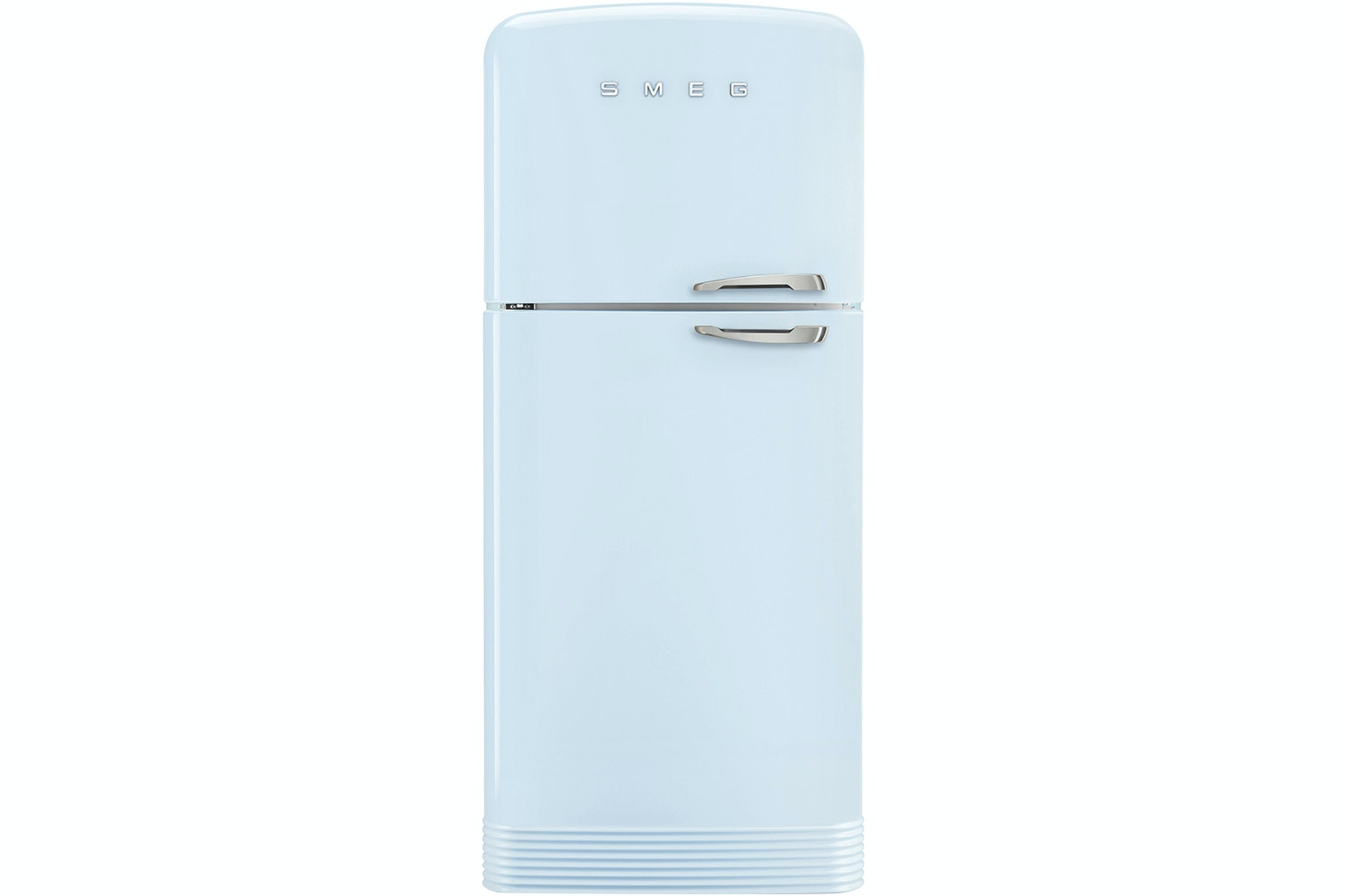 Smeg Retro Style Freestanding Fridge Freezer | FAB50LPB | Pastel Blue