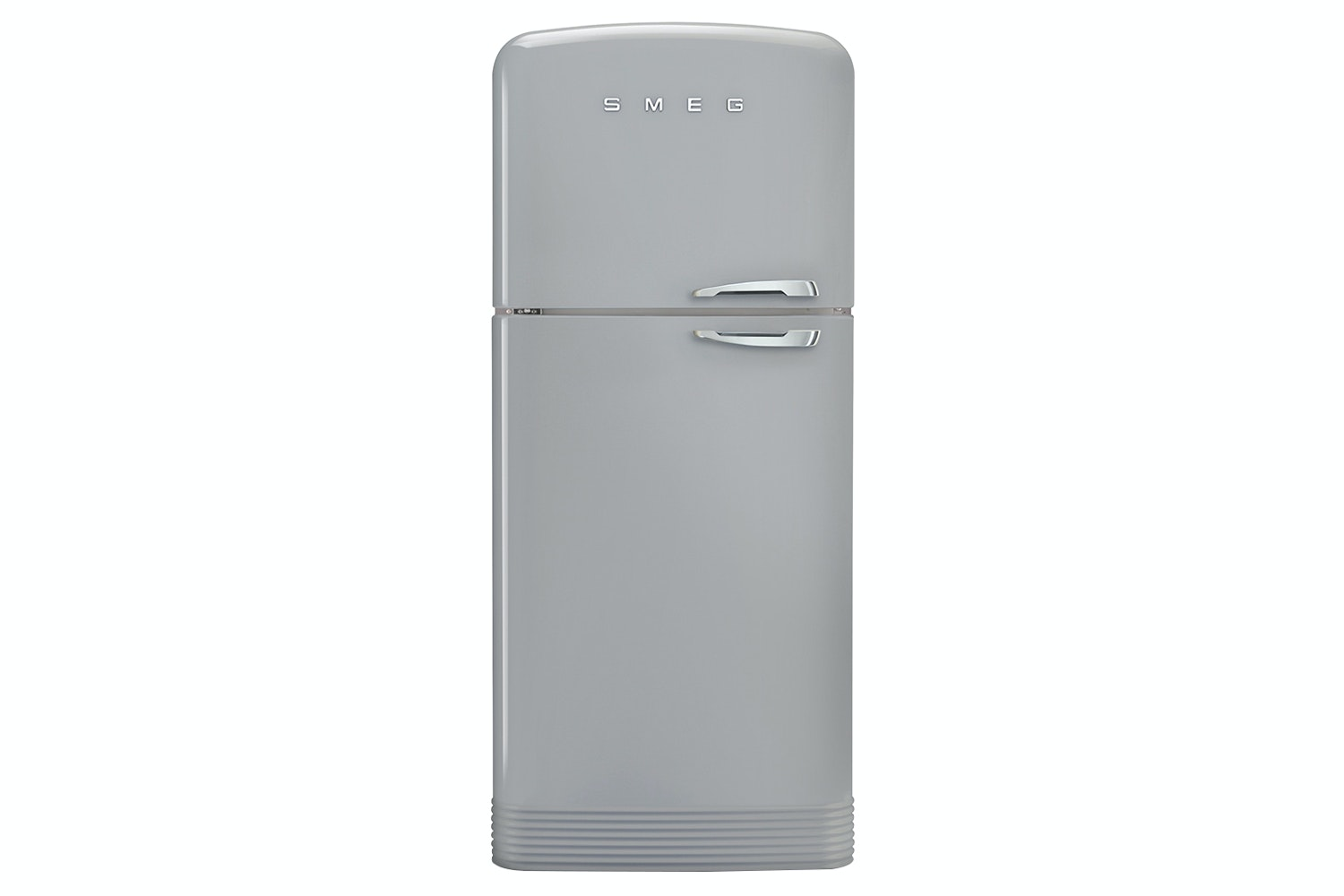 Smeg Retro Style Freestanding Fridge Freezer | FAB50LSV | Silver