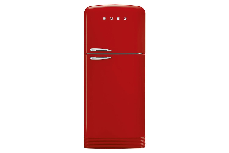 Smeg Retro Style Freestanding Fridge Freezer Fab50rrd Red