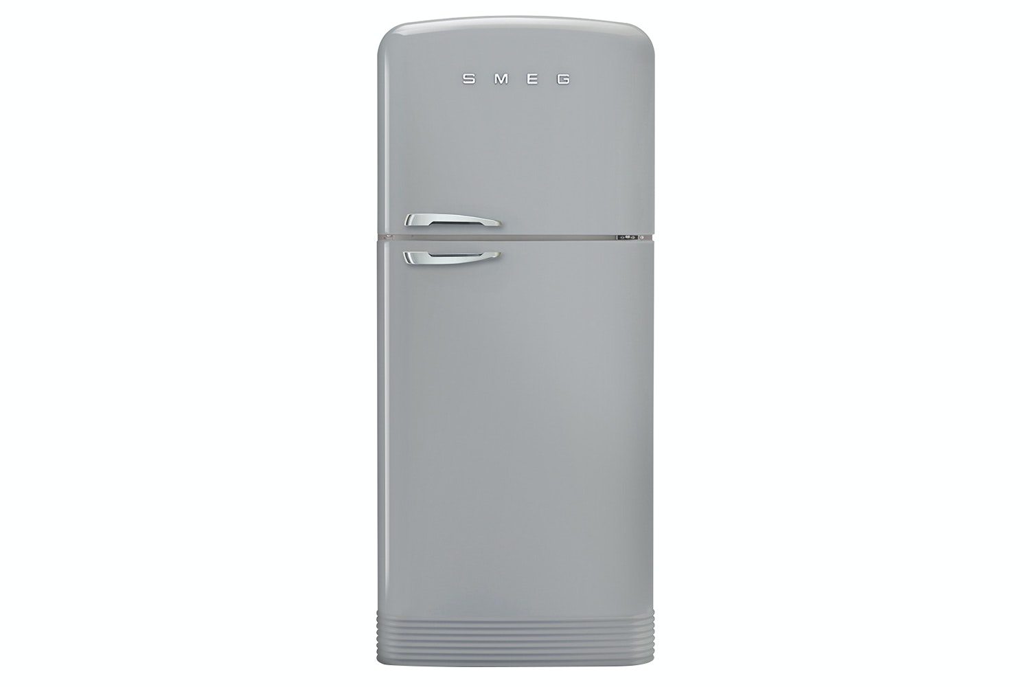 Smeg Retro Style Freestanding Fridge Freezer | FAB50RSV | Silver