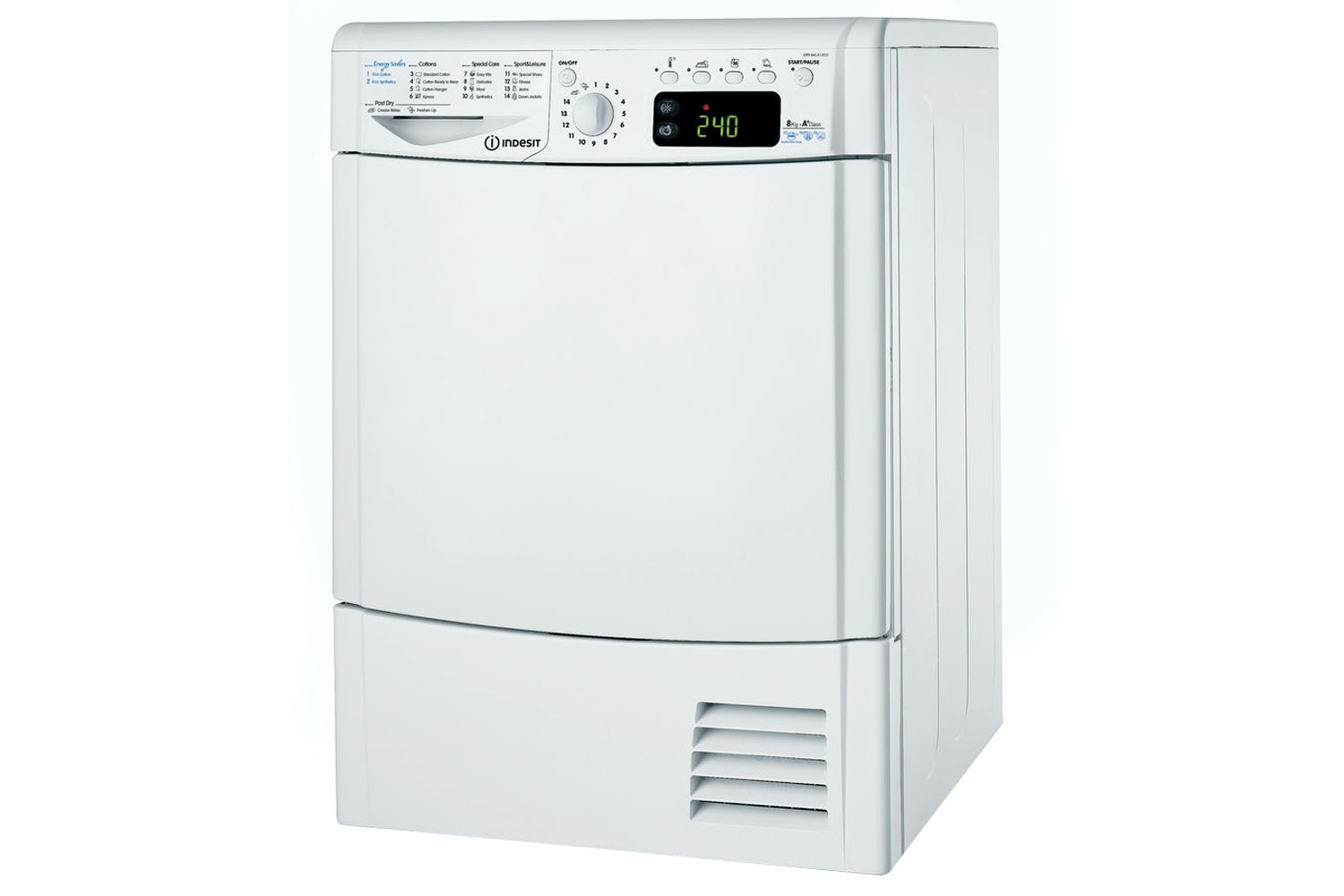 Indesit EcoTime 8kg Heat Pump Tumble Dryer | IDPE845A1