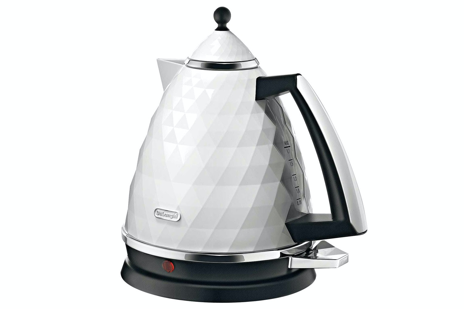 DeLonghi 1.7L Brilliante Kettle | White