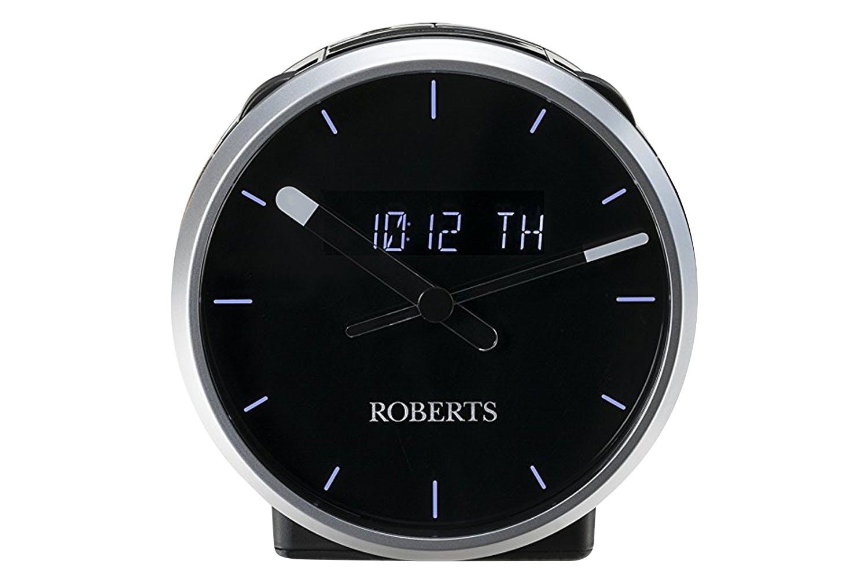 Robert Ortus Time DAB/DAB+/FM Digital Alarm Clock Radio