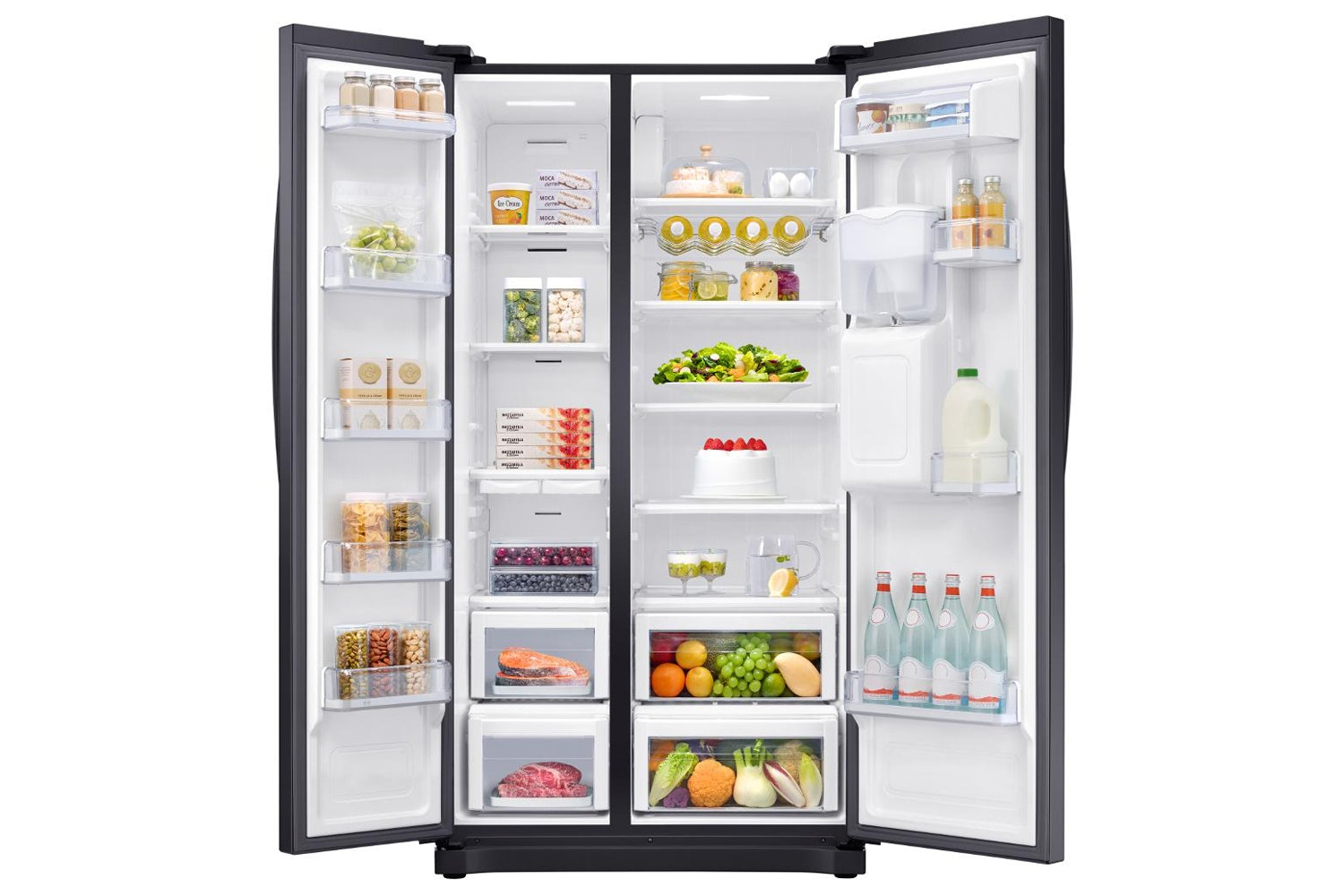 Samsung Side by Side American Fridge Freezer | RS52N3213BC/EU