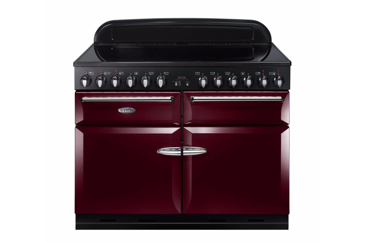 Stanley Supreme 110cm Electric Range Cooker | SSUP110EICY/C | Red