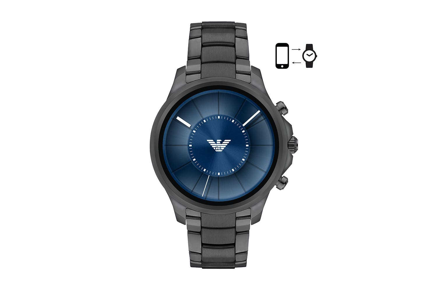 8fb6066152df Emporio Armani Men s Touchscreen Smartwatch ART5005