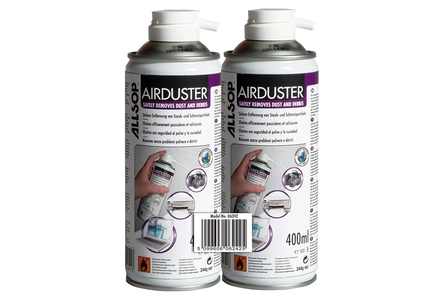 Allsop 400ml Airduster Twin Pack
