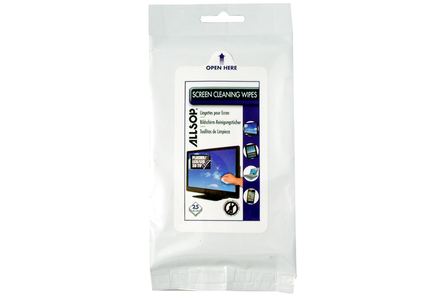 Allsop Screen Cleaning Wipes
