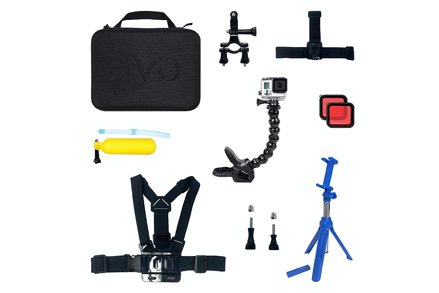 Jivo Go Gear 8 in 1 Kit For Gopro