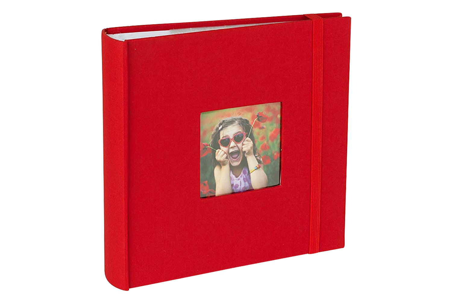 "Kenro Aztec 6x4"" Red Photo Album 