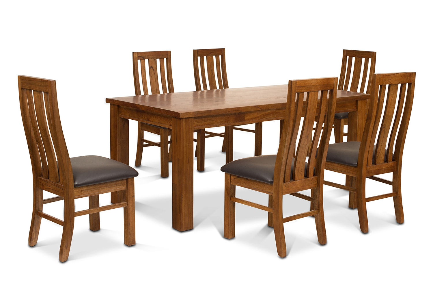 Ebony 7 Piece Dining Set