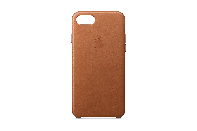 premium selection c5716 59ea7 iPhone 8/7 Leather Case | Saddle Brown