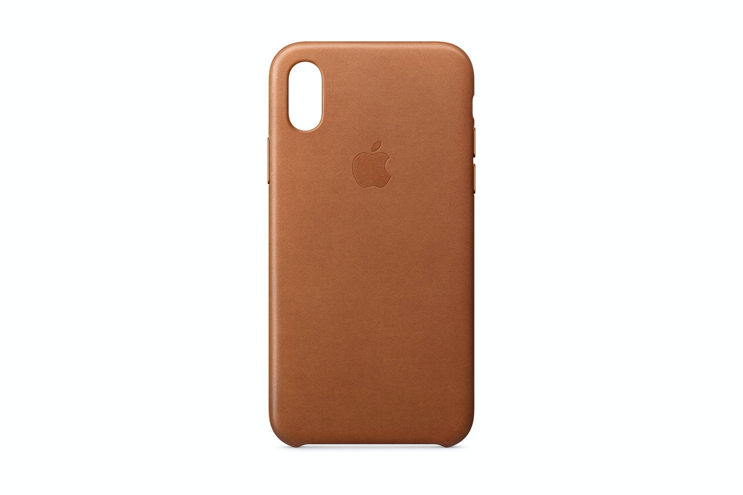 iPhone X Leather Case | Brown