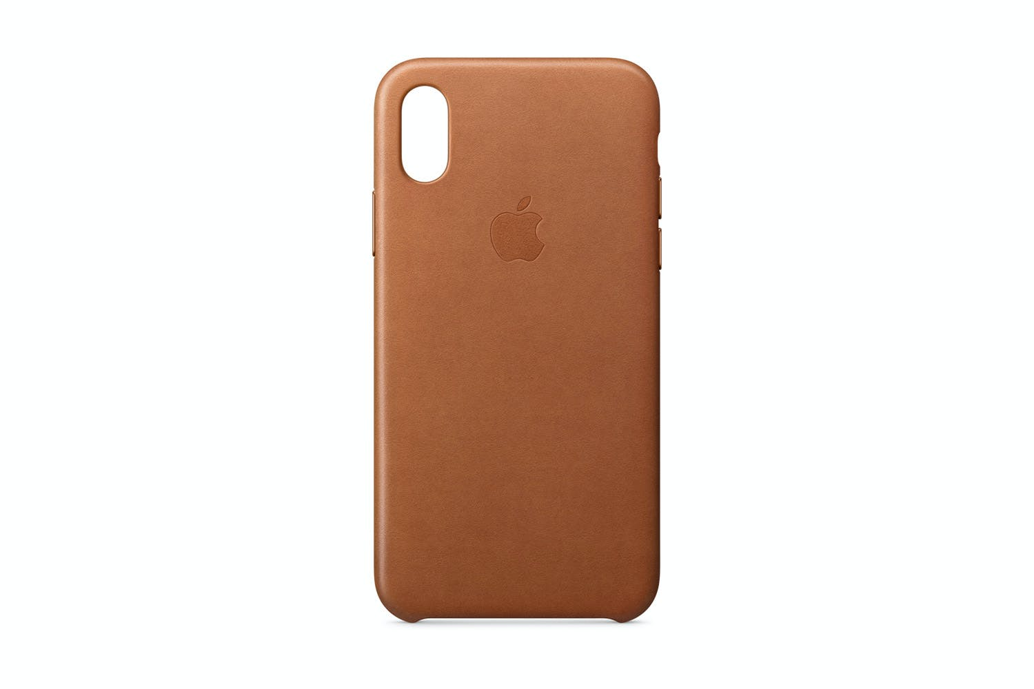 new arrival 1f708 b68df iPhone X Leather Case | Saddle Brown
