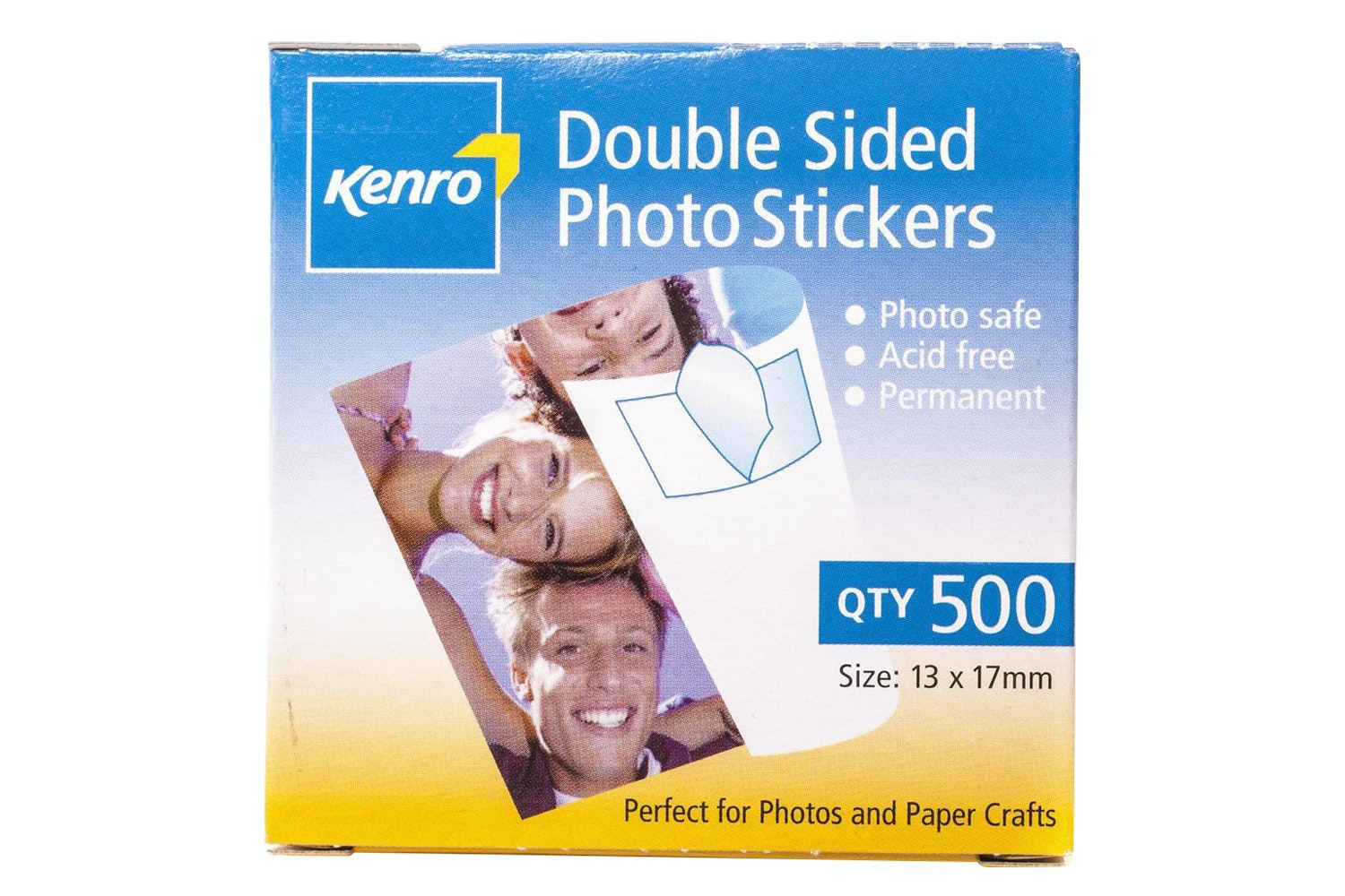 Kenro Double Sided Photo Sticker | 500 Box