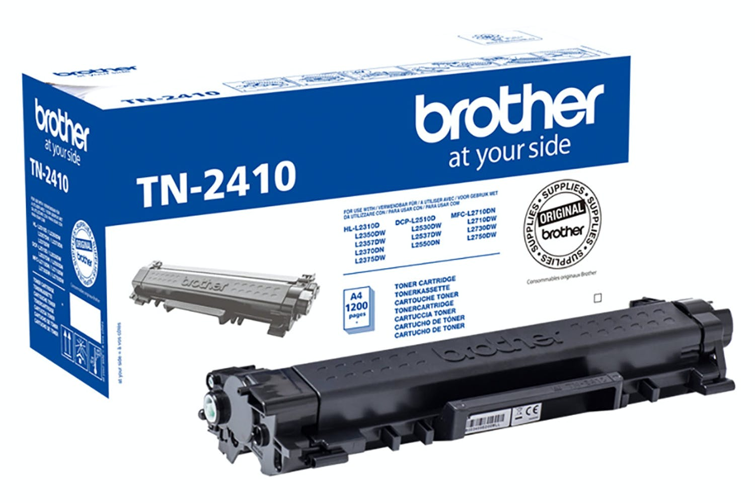 Brother TN-2410 Toner Cartridge | Black