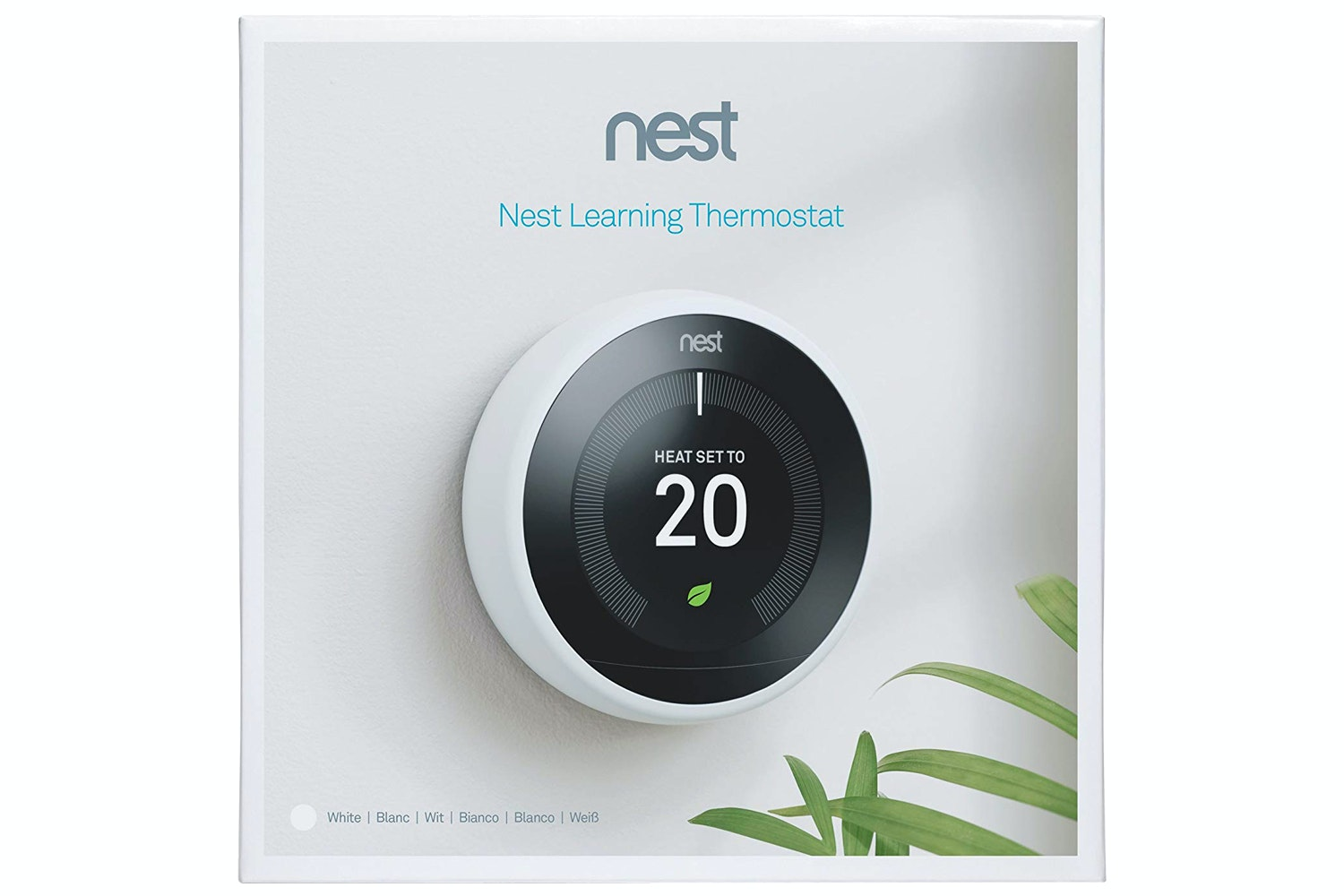 Nest Learning Thermostat 3rd Gen | White (2018)